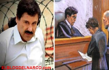 Así se vistió El Chapo para afrontar el primer día de su juicio en Nueva York