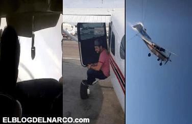 Así andaba el Mingo de Badiraguato volando bajo y conviviendo con sus amigos antes de estrellar avioneta en Culiacán (VÍDEO)
