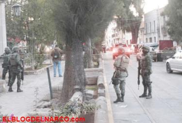 Comando ejecuta a hombre y mujer policías en Guadalupe, Zacatecas