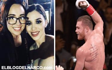 Emma Coronel se olvidaría del juicio de El Chapo con pelea de Canelo Álvarez