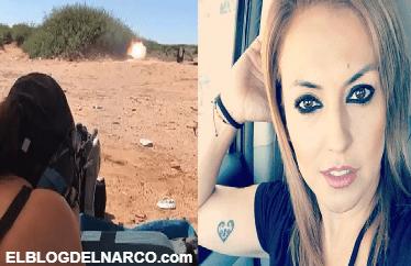 Presumía el manejo de armas de grueso calibre, la mujer fue ejecutada al salir de un comercio en Ciudad Juárez (VÍDEO)