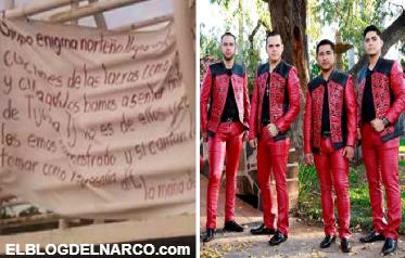Revelan verdad de amenaza con narcomanta a Enigma Norteño en Tijuana