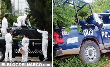 Tragedia bañada en sangre, las masacres a policías que dejó 2018 en México