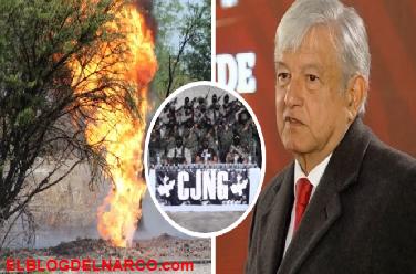 CJNG, el destino de la toma clandestina que AMLO advirtió en Salamanca
