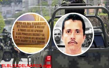 Cuelgan narcomanta con amenaza contra El Mencho en Jalisco (IMÁGENES)