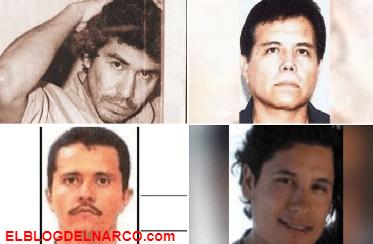Ellos son Caro Quintero, Ismael Zambada, El Mencho y El Alfredillo los 4 mexicanos más buscados por la DEA