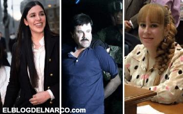 Emma Coronel, Griselda López Pérez, María Alejandrina Salazar, Lucero Guadalupe Sánchez y más mujeres de El Chapo Guzmán