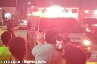 Fotografías de la masacre y tragedia en Playa del Carmen, balacera deja 6 muertos