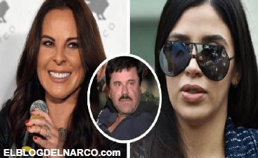 Kate del Castillo reta a Emma Coronel con uso de la marca 'El Chapo'