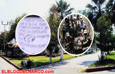 Cártel del Noreste cuelga narcomanta para facción Zeta en Tamaulipas