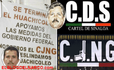 Difunden pacto entre El Mencho y El Mayo Zambada contra huachicol