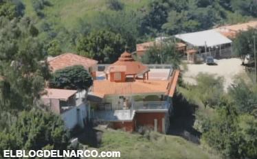 """El templo que construyó """"El Chapo"""" Guzmán para su madre"""