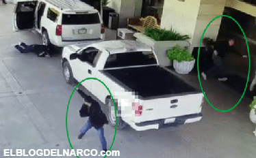En ataque sorpresa sicarios intentan ejecutar a empresario que esta escoltado por guardaespaldas que repelen la agresión (VÍDEO)