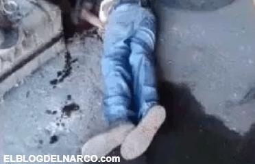 """Vídeo muestra masacre del cartel de """"El Marro"""" en México y amenaza a """" El Mencho"""""""