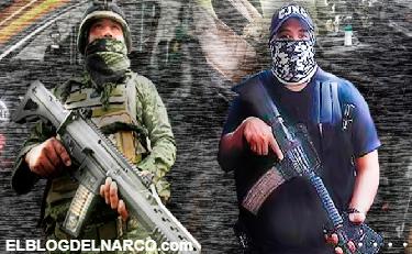 Difunden imágenes del enfrentamiento entre miembros de la Sedena y el Cártel de Jalisco