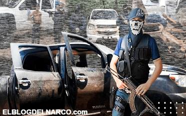 Graban poderío armado del Cártel del Noreste en calles de Tamaulipas (VÍDEO)