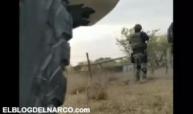 Vídeo de balacera entre Ejército mexicano y sicarios del Cártel del Noreste en Tamaulipas