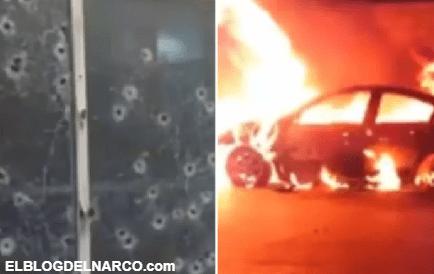 30 sicarios de Cartel Gente Nueva del Tigre tirotean e incendian comisaría en Chihuahua