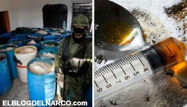 Decomisan narcolaboratorio en Culiacán, alertan sobre potente nueva droga