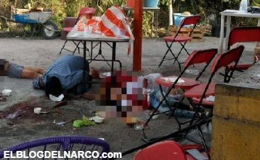 MASACRE Comando armado acribilla a clientes de restaurant en Cuautla, Morelos; hay 4 muertos y 11 heridos