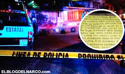Sicarios rafaguean casa de maestra en Veracruz por maltrato infantil