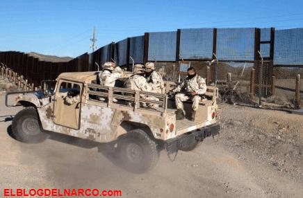 Trump se enoja por que Militares Mexicanos detuvieron y desarmaron a Soldados gringos
