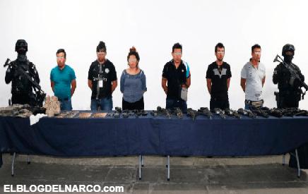 Detienen a seis Huachicoleros que emboscaron a Marinos y mataron a 1 en Xicotepec, Puebla
