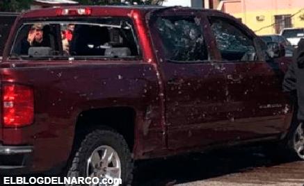 Como coladera, así quedaron tras ser atacados 2 hombres y una mujer, en Agua Prieta, Sonora (VÍDEO)