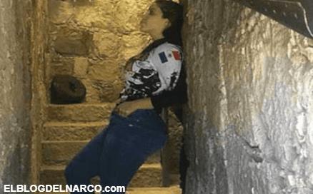 Emma Coronel posa atractivo perfil en un túnel, los favoritos de su señor esposo El Chapo para traficar y fugarse