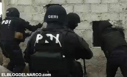 """¡Marros, marros! Policías de CdMx rompen pared para detener a miembros de """"Los Rodolfos"""" (VÍDEO)"""