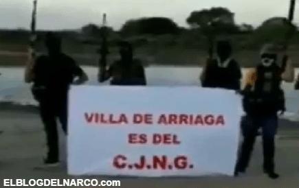 CJNG anuncia su llegada a San Luis Potosí... lanzan advertencia al Cártel del Noreste (vídeo)