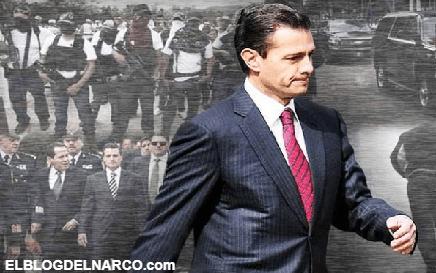 El miedo no anda en burro, las veces que el Estado Mayor Presidencial de EPN huyó de la tierra de Los Zetas y el CDG
