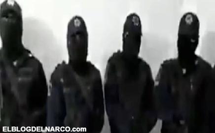 Encapuchados hacen fuerte revelación sobre el narco y el gobierno en México (VÍDEO)