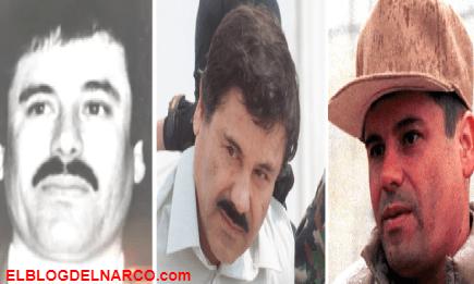 Narcocirugías, las diferentes etapas del rostro de El Chapo Guzmán para lucir más atractivo.