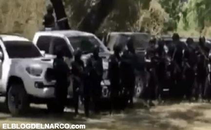 El Cártel de Sinaloa manda mensaje al CJNG, muestra sicarios y trocas monstruo en VÍDEO