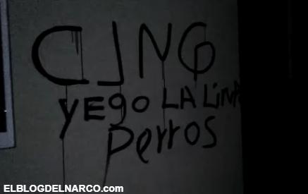 Vídeo inedito donde sicarios del CJNG muestran ametralladora y se graban entre ellos...