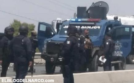 Balacera entre estatales y Sicarios en libramiento de Río Bravo, Tamaulipas