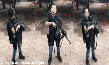 Niño narco, que tiene de mascota a un tigre, amenazó a rivales del Mayo Zambada (VÍDEO)