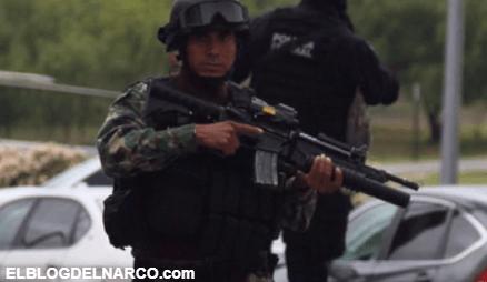 """""""Mira los soldados a todo lo que da"""", el momento del brutal enfrentamiento entre autoridades y el CDN en Tamaulipas"""
