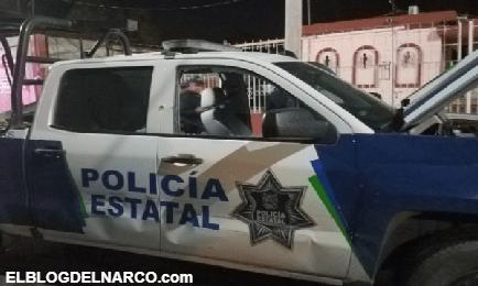 Cartel del Noreste agrede a Elementos de la Policia Estatal en la col. Matamoros, Nuevo Laredo