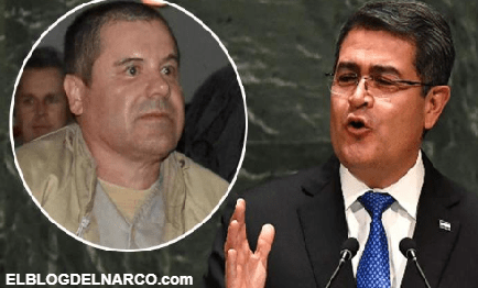 El 'Chapo' sobornó al presidente hondureño, Juan Orlando Hernández