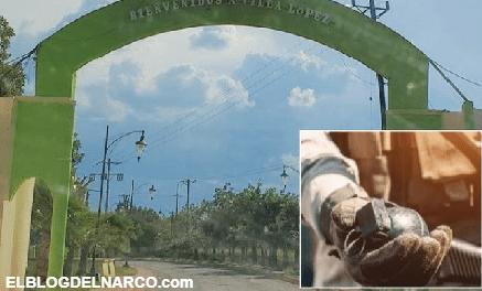 Fuerte enfrentamiento en López, Chihuahua; pobladores dicen que se escucharon granadas