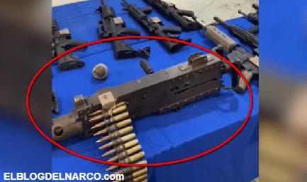 Policía Estatal madruga a sicarios del CDG, les aseguran fusil antiaéreo calibre 50 junto a rifles y granadas en Tamaulipas