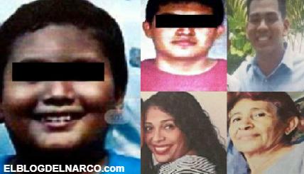 Encuentran cadáveres de 5 integrantes de una familia levantada por convoy de sicarios en Acapulco