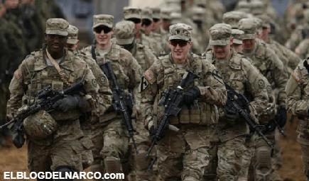 No se puede descartar intervención Militar de EU en México...