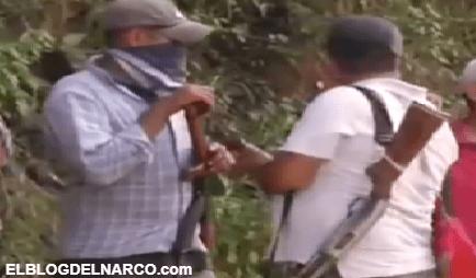 Se arman ante ataques, despojos y extorsiones del La Familia Michoacana y el CJNG