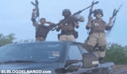 Sicarios del CDN sigue clonando trocas de Policía Estatal, Fuerzas Especiales y Militares en Nuevo León