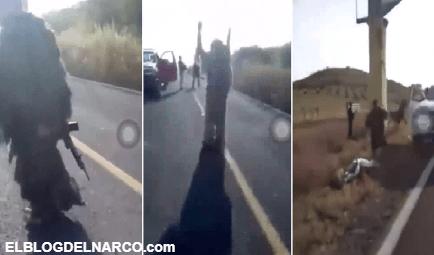 """Batalla por Michoacán, armados hasta los dientes, """"Los Viagra"""" ingresaron a El Aguaje para combatir al CJNG"""