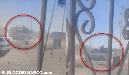 Diferentes Vídeos muestran cómo llegó el convoy del C.D.N a Villa Unión, para emboscar a Policías