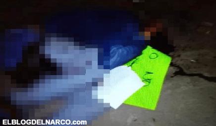 Ejecutan a ladrón en San Luis Potosí Prometo no volver a robar le dejaron en una cartulina